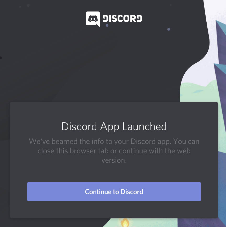 Existing Discord Account Step 2